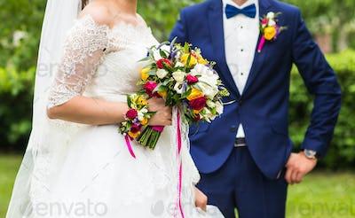 Groom and bride together