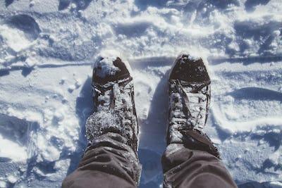 Feet Into The Snow