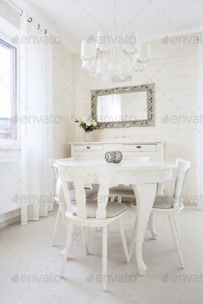 Living room in vintage design