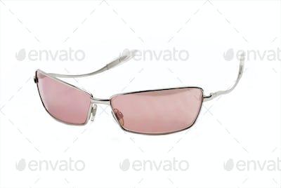 modern pink sunglasses