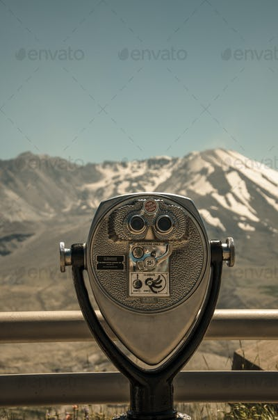 Vacation Viewfinder at Mt St Helens