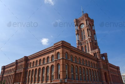 Townhall Rotes Rathaus in Berlin