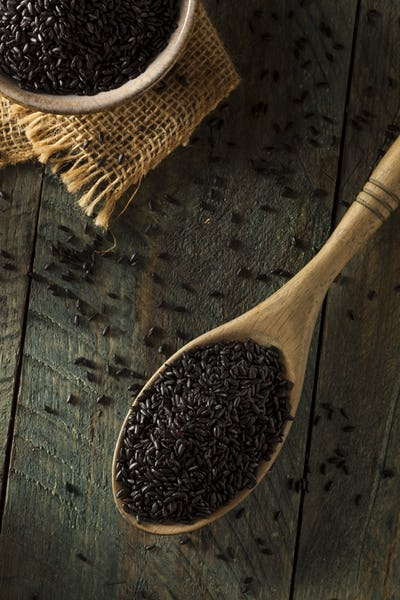 Raw Dry Organic Black Rice