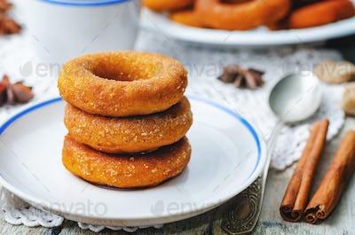 pumpkin donuts