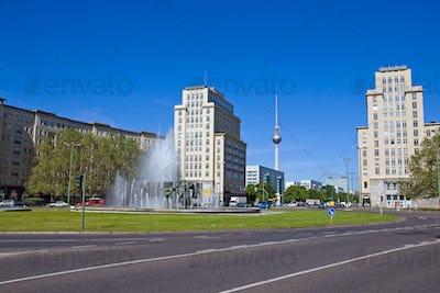 The Strausberger Platz in Berlin
