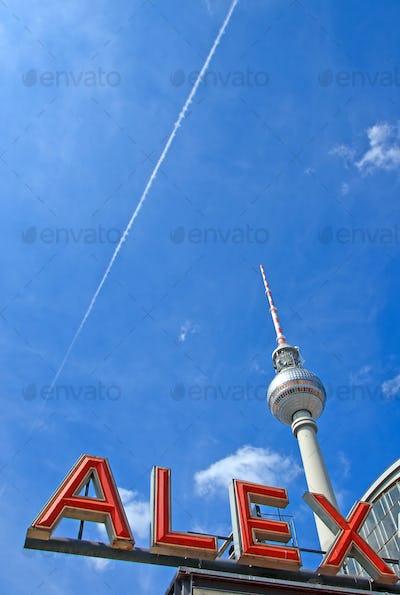 Berlins famous Alex