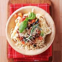 Spaghetti and ragu alla Bolognese
