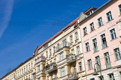 Old apartment buildings in Berlin