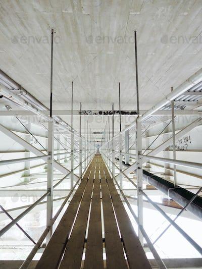 Symmetry under a bridge