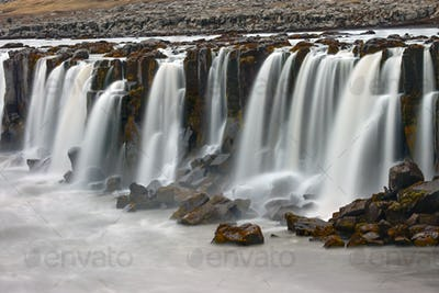 The Selfoss waterfall in Iceland