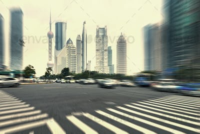 Street and city