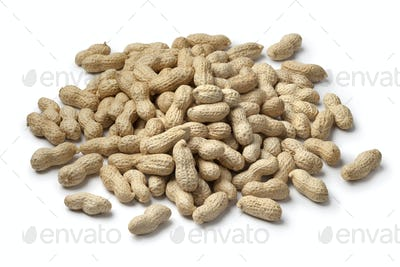 Heap of shelled peanuts