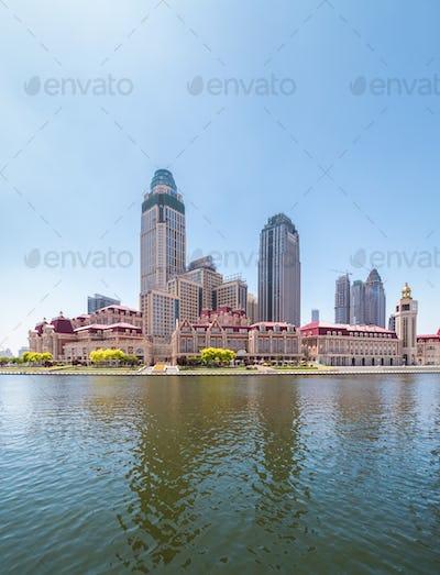 tianjin jinwan plaza closeup
