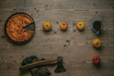 apple pie Pac-man