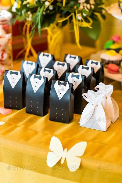 Wedding  bonbonniere for guest