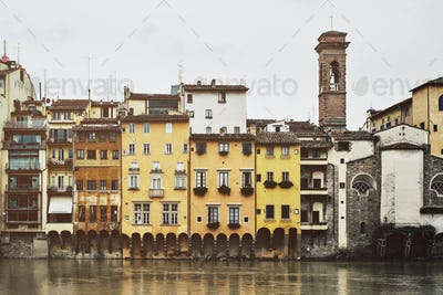 Colors along the Arno Italy