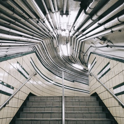 Subway Pathway in New York