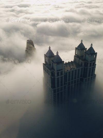 A Skyscraper beyond the Clouds