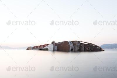 Shipwreck in Elefsina