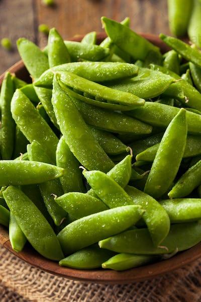 Organic Green Sugar Snap Peas