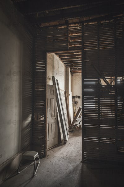 Construction in an old Building