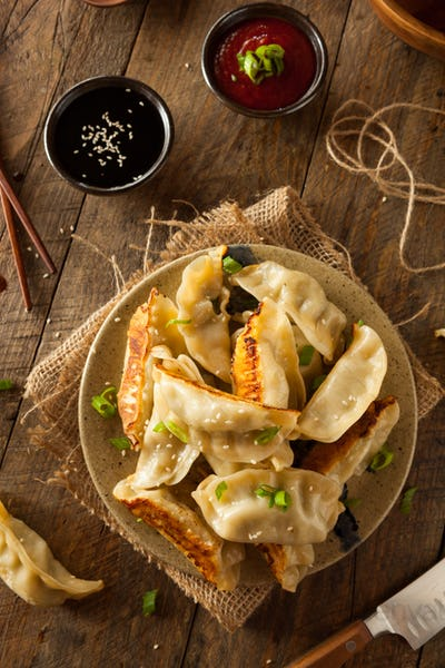 Homemade Asian Pork Potstickers
