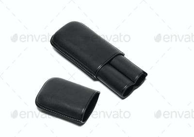 cigars leather case