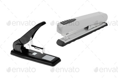 professional staplers isolated