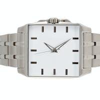 classic steel wrist watch timer