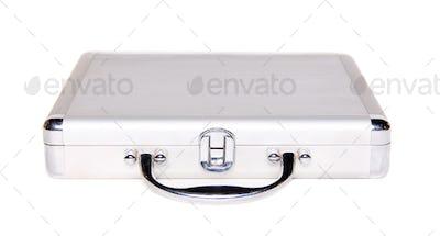 the silver brief case