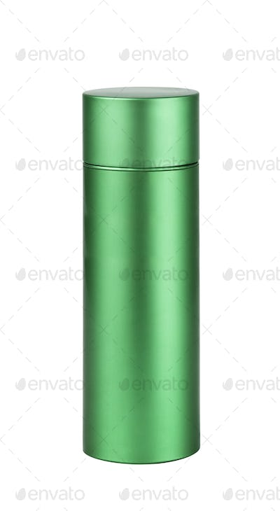 Bottle. On a white background