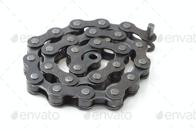 Bicycle metal link chain