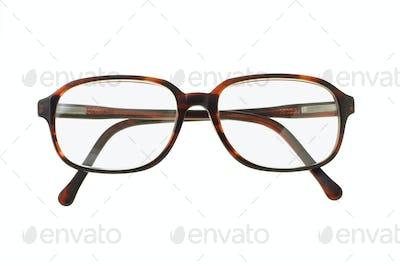 Old fashion plastic rim spectacles