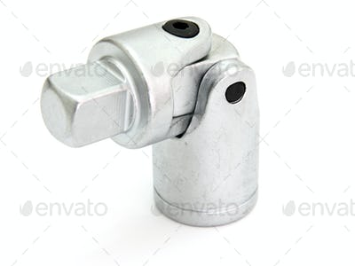 spanner with  on a white background