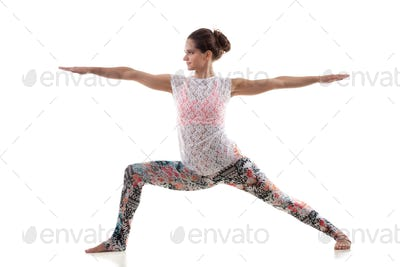Yoga Pose virabhadrasana 2