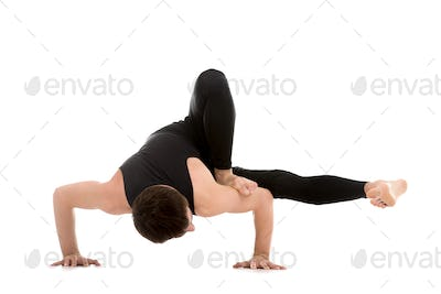 Arm balance exercise for strength