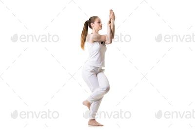 Yoga Eagle Pose