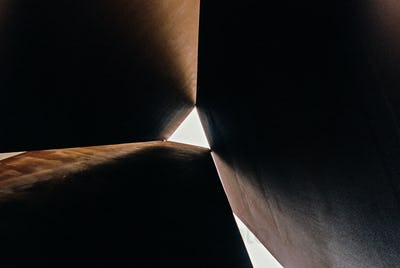 Looking Up Through a Triangle