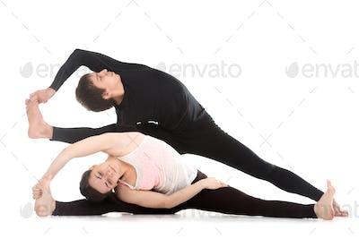 Yoga side bends