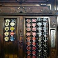Vintage Cash Register Adding Machine Antique Merchant Tool
