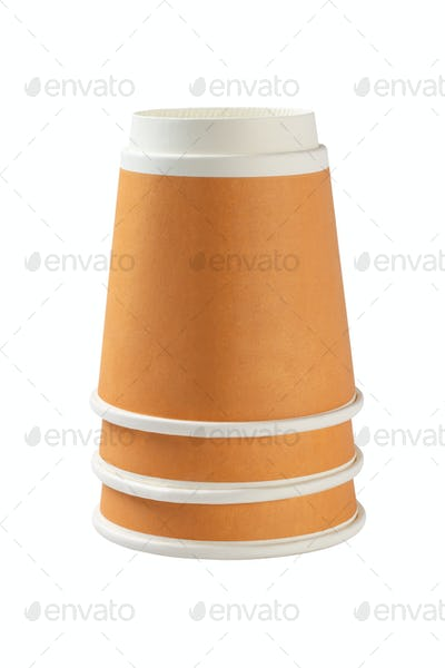 Inverted Coffee Cups