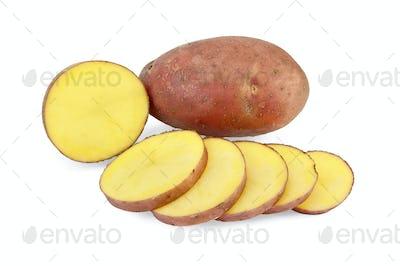 Potatoes sliced