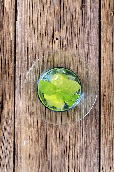 Glass of Mojito