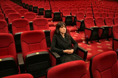 Alone in the theater