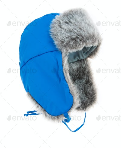 Warm fur cap