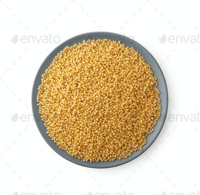 Plate of couscous