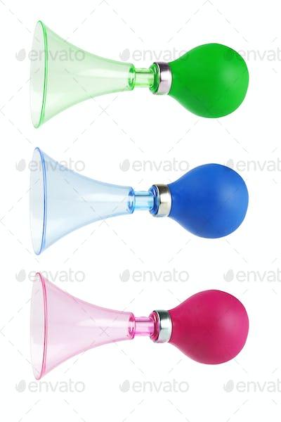 Colourful Air Horns