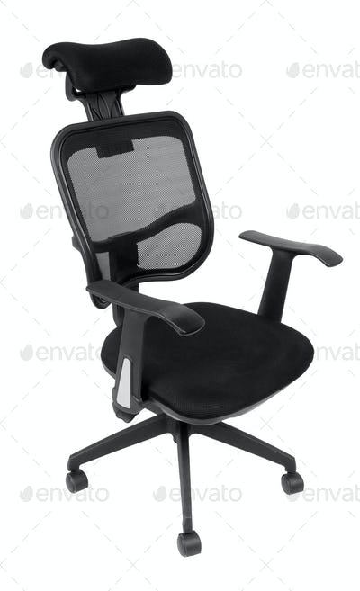 Black office spinning chair