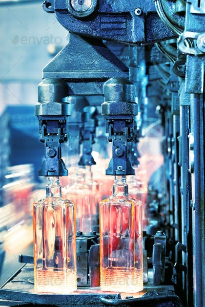 Production of bottles
