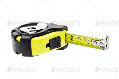 Measuring tape with magnetic head